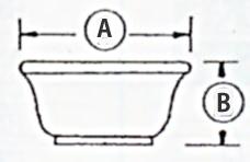 護摩器 八器碗・蓋 大々型