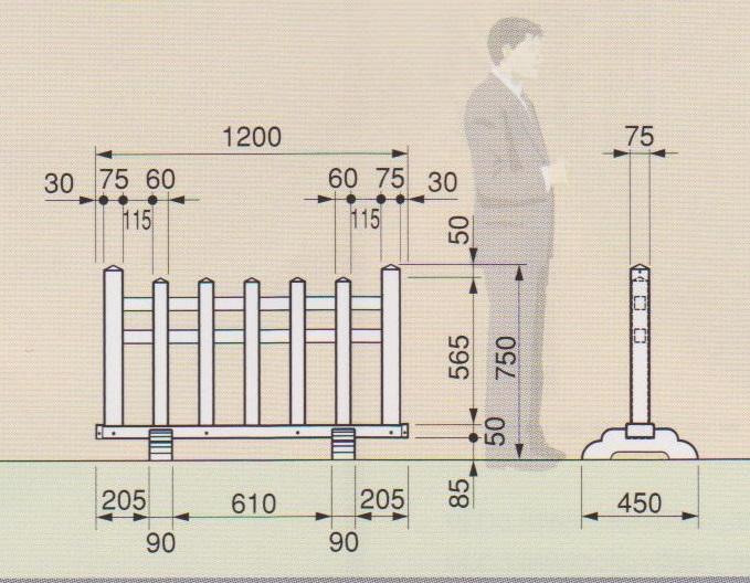 4尺 結界説明図