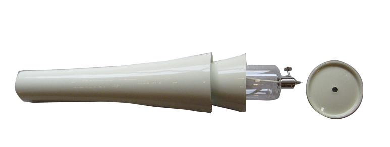 アルミ製オイル式和ローソク 大 高30cm<br> 燃焼時間24時間<br>