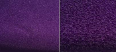 紫幕 縮緬羽二重