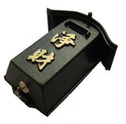 柱掛賽銭箱1