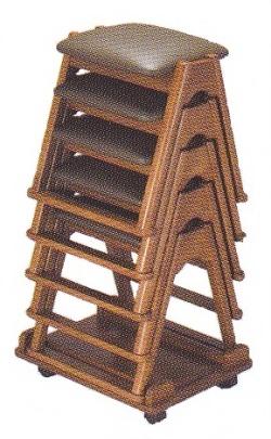 椅子 TR 積み重ね例