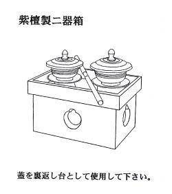 二器箱 デザイン