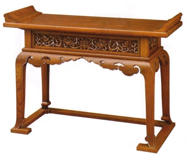 欅製椅子式導師机