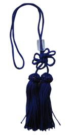 撞木房(紫) 人絹