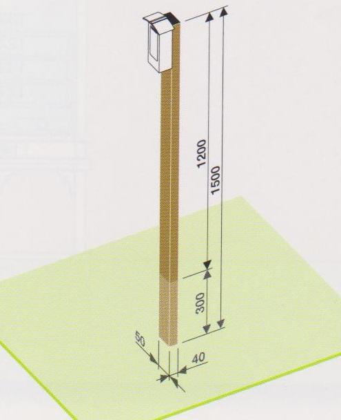 柱掛賽銭箱用スタンドサイズ